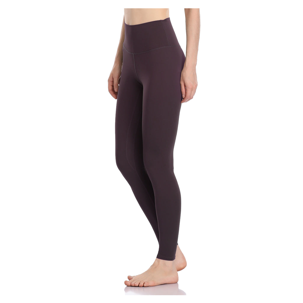 28″ Buttery Soft Full-length Leggings - Wine Red