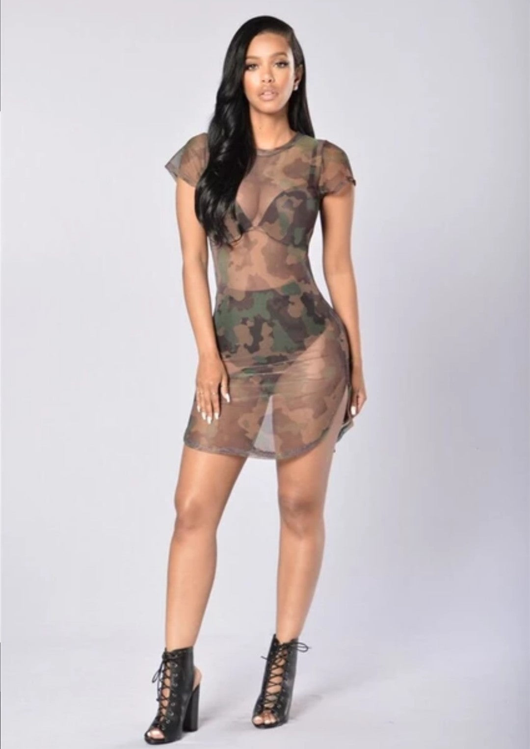 SOLD OUT Mesh Cover Camo