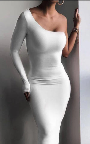 Single Sleeve Dress