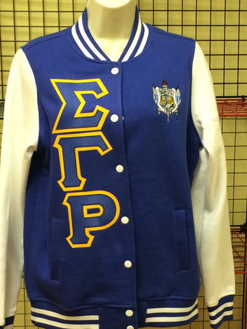 Sigma Gamma Rho Sorority, Inc. Letterman Jacket