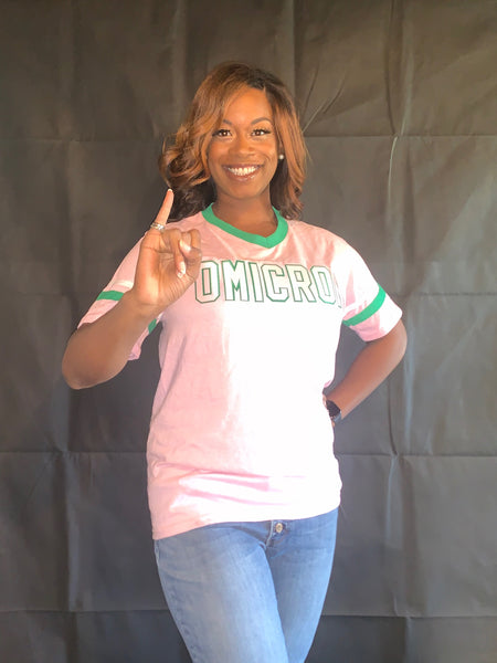 Alpha Kappa Alpha Single Letter Chapter Tee