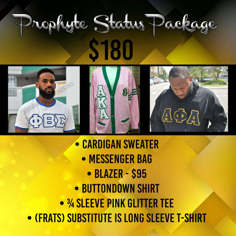 """Prophyte Status -"" Package"