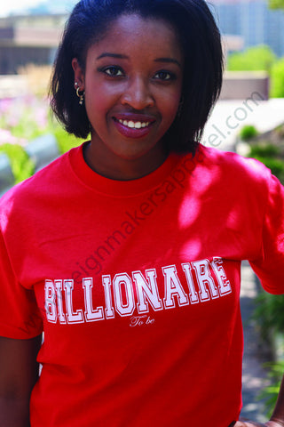 Billionaire to be Tee