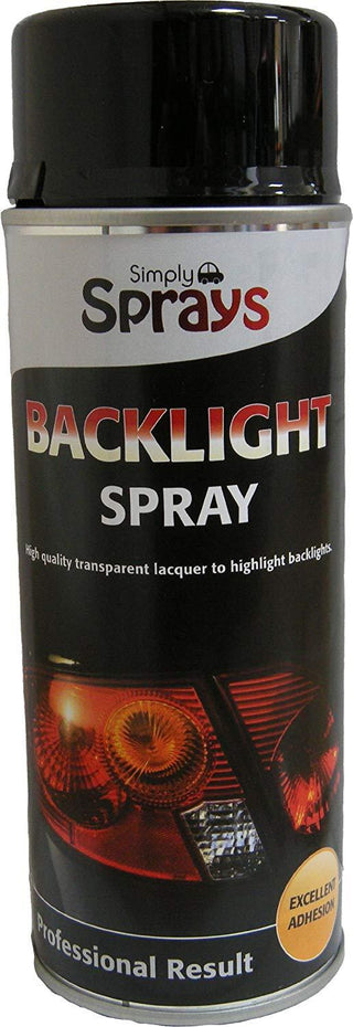SIMPLY BACK TAIL LIGHT TINTING SPRAY BACKLIGHT 400ml Black Tint Car Styling SP01 - Bars4Cars