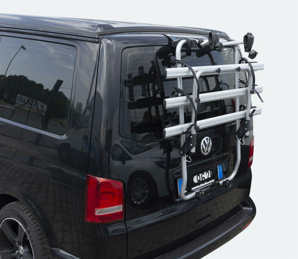 MENABO BIKE RACK CYCLE CARRIER TAILGATE FITS VW T5 TRANSPORTER CAMPERVAN