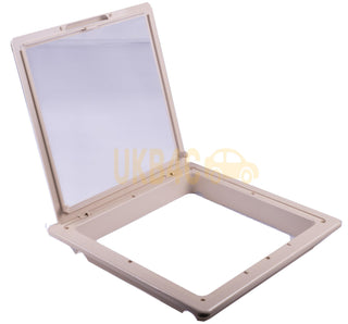 Roof Vent Sky Light Caravan Motorhome 280 x 280mm Flynet Beige MPK Rooflight - UKB4C