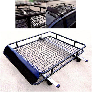 Leisurewize Universal Heavy Duty Steel Aerodynamic Roof Rack Bar Tray Carrier - Bars4Cars