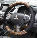 Copy of Leopard Animal Skin Print Car Steering Wheel Cover for BMW 1 Series All Years - UKB4C