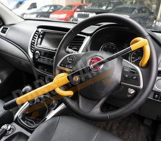 Anti Theft Double Hook Security Steering Wheel Lock for Hyundai I800 All Years - UKB4C