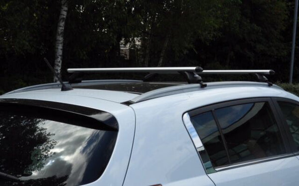 Aluminium Summit Roof Rack Cross Bars fits Seat Leon 2014-2017 Mk3 ST SW 5 DR - UKB4C