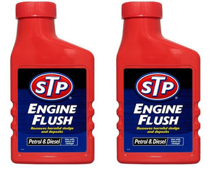 2x STP Engine Flush 450ml For Petrol Or Diesel Engines Oil Flushing Clean Additive - UKB4C