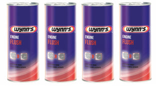 4x Wynns Engine Flush 425ml For Petrol & Diesel Cleans Engines Internally - Bars4Cars