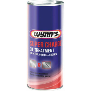 Wynns Super Charge Oil Treatment Additive 425ml For Petrol & Diesel Engine - Bars4Cars