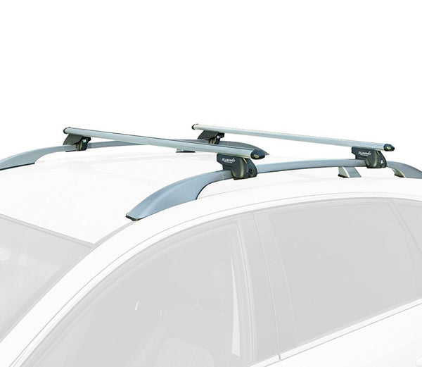 Aluminium Roof Rack Cross Bars fits Fiat Stilo 2003-2007 Multi Wagon + Uproad 5dr - UKB4C
