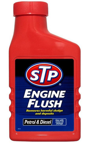 STP Engine Flush 450ml For Petrol Or Diesel Engines Oil Flushing Clean Additive - UKB4C