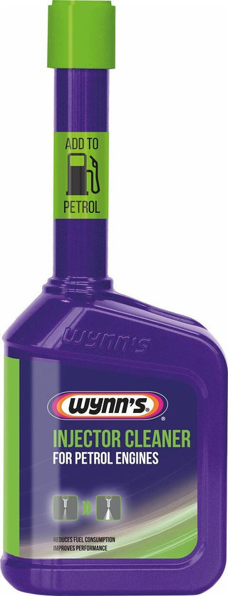 2x Wynns PETROL Injector Cleaner Fuel Treatment Additive 325ml More Performance MPG - Bars4Cars