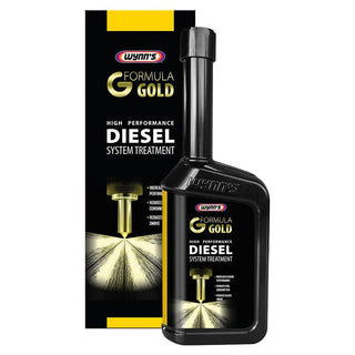 2x Wynns Formula Gold Powerful Diesel Fuel System Injector Cleaner Treatment 500ml - Bars4Cars
