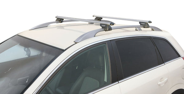 Aluminium Roof Rack Cross Bars fits Subaru Justy 2003-2007 MPV 5 door - UKB4C