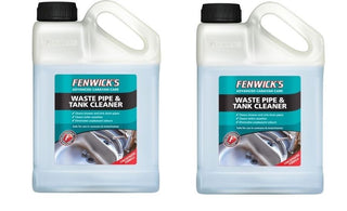 2x Fenwicks Waste Pipe and Tank Cleaner - 1 Litre - UKB4C