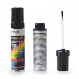 AUDI SEAT SKODA VW  ICE SILVER TOUCH UP PEN BOTTLE BRUSH REPAIR PAINT CHIP SCRATCH - UKB4C