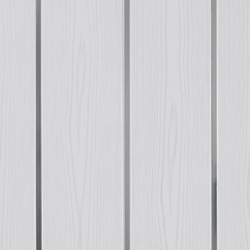 White Forest/ Sliver Ceiling Cladding (2.5m x 8.5mm