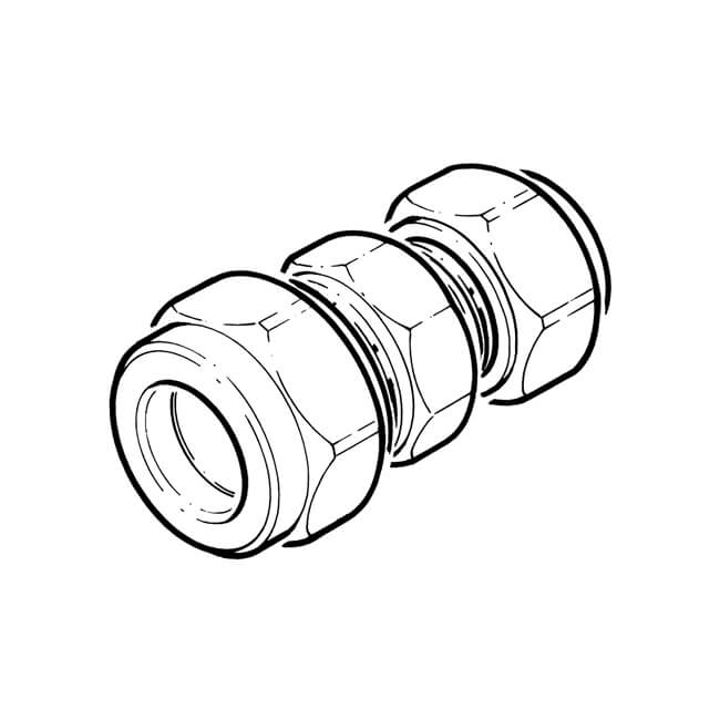 28mmx15mm Reducing Coupling