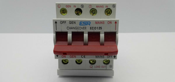 125a 240v Changeover Switch