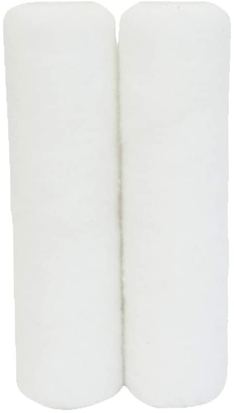 "Essentials By Charles Bentley 9"" Roller Refills White 2 Pack"