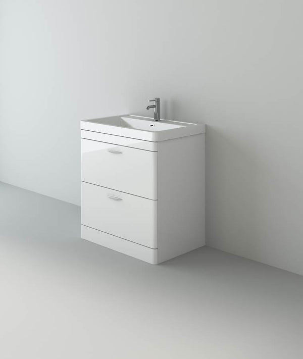 Apollo 700 FS Unit And Polymarble Basin White