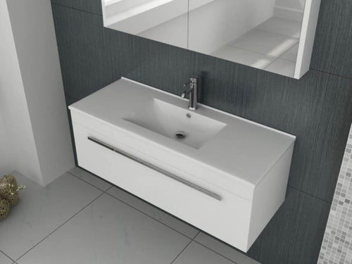 Venus 1000 White WH Unit and Slim Edge Basin