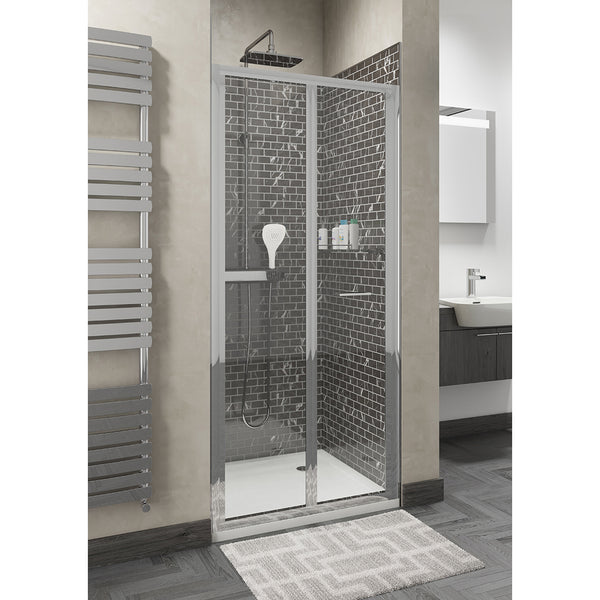 BIFOLD SHOWER ENCLOSURE DOORS 900MM Door Only