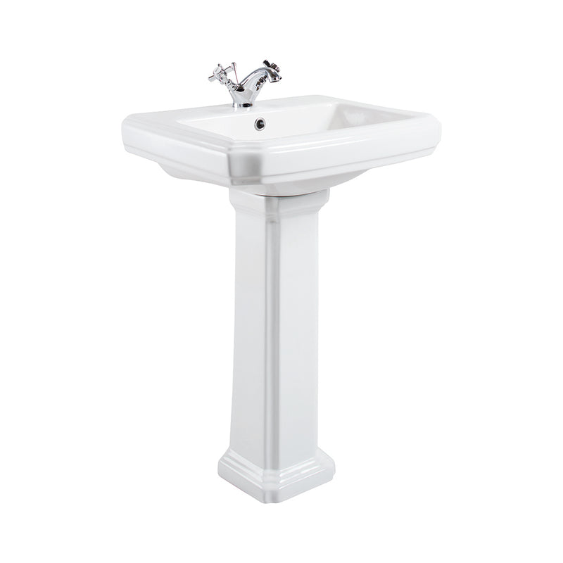 Cromford Traditional Basin & Pedestal
