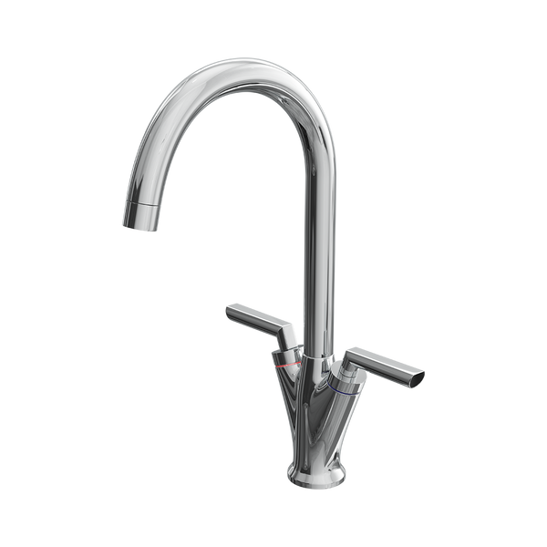 Dual Lever Mono Kitchen Sink Mixer Tap