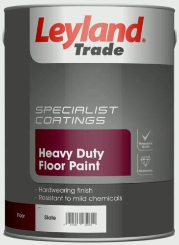 Leyland Floor Paint Yellow 5L