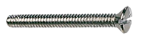 M3.5x25mm Raised CSK Nickel Plated Screw 100 Box