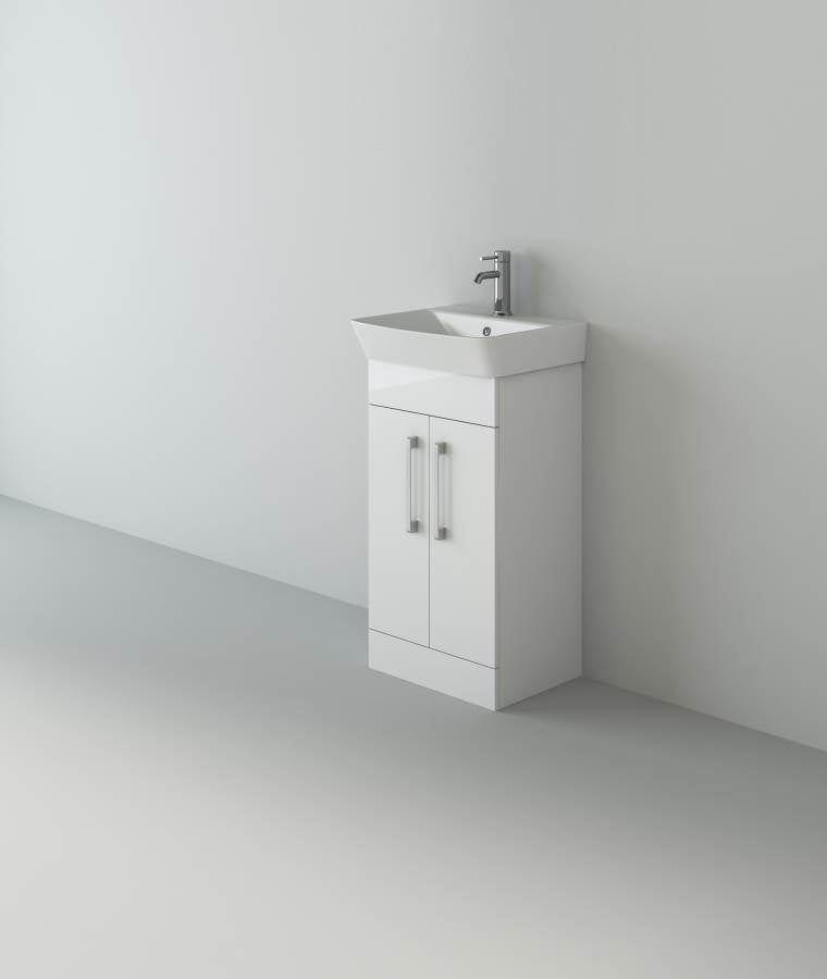 Planet 600 White Unit And Basin