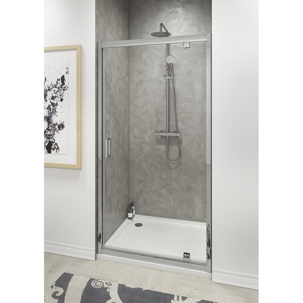PIVOT SHOWER ENCLOSURE DOORS 800MM Door Only