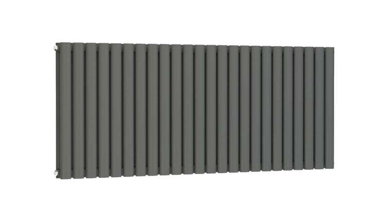 Princia Horizontal 600x1420mm Oval Panel Double Anthracite