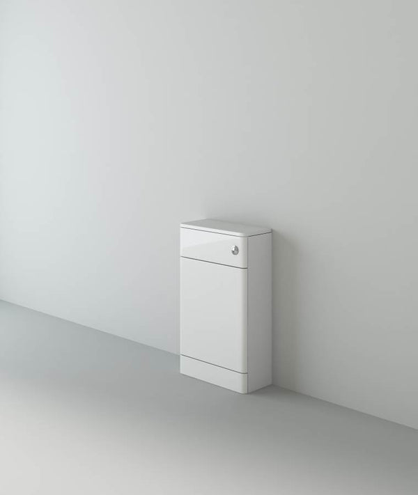 Apollo 500×300 Round Edge WC Unit White