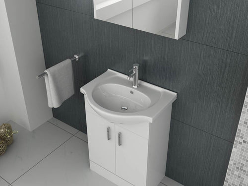 Mars 650 Unit and basin – White