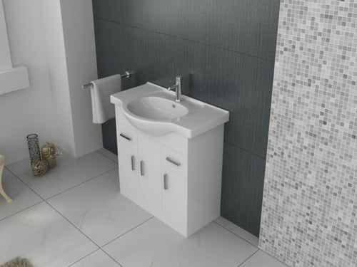 Mars 750 Unit and basin – White