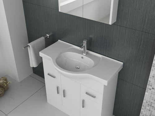 Mars 850 Unit and basin – White