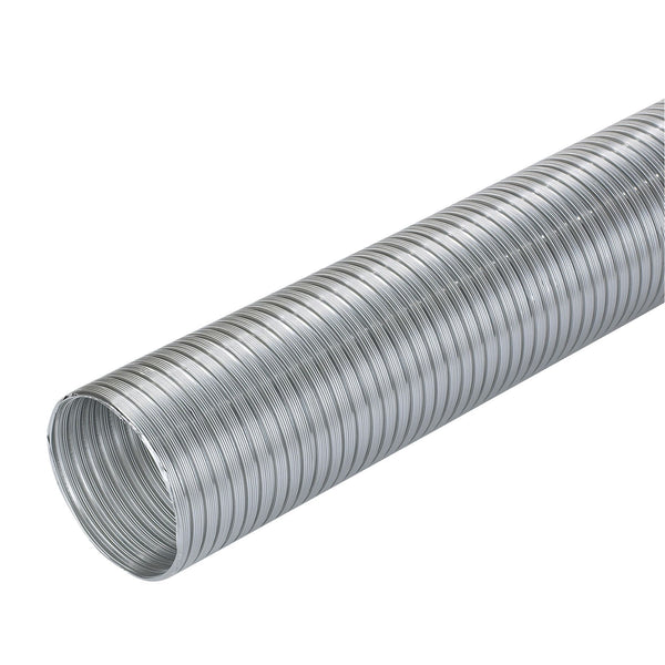 Manrose Semi Rigid Flexible Aliminium Ducting 100mm x 1.5m