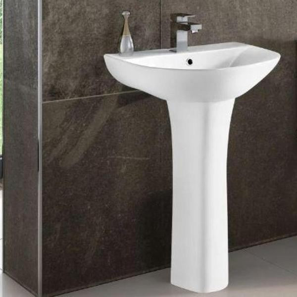 Toilet, Cistern, Basin & Pedestal 5 piece set