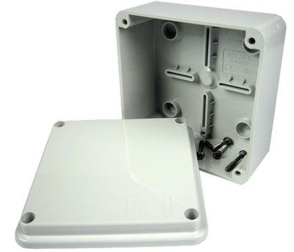 100 X 100 X 50mm IP56 Junction Box With Plain Sides