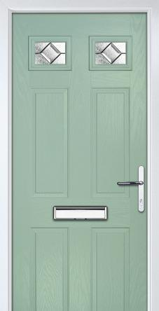 Troon Grained Traditional Chartwell Green