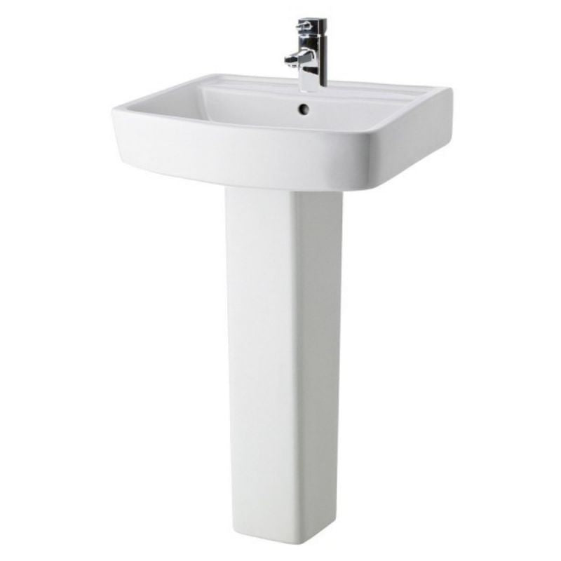 Bliss 520mm Basin 1TH & Pedestal