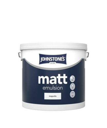 Johnstone's Matt 5L Magnolia Contract Emulsion