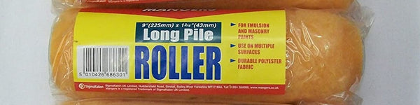 "Mangers Extra Long Pile Roller 9"" (225mm)"