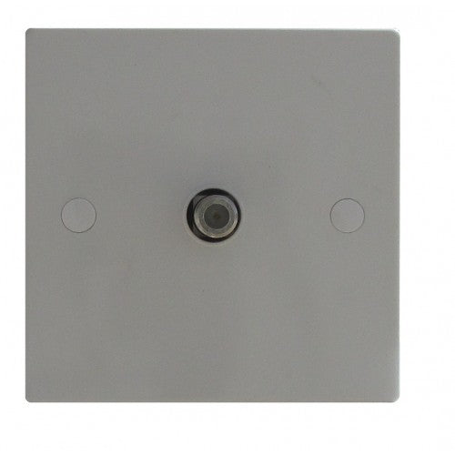 1 Gang TV/Co-Axial Socket Non Isolated